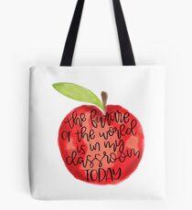 Teacher Quote Tote Bag