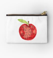 Teacher Quote Studio Pouch