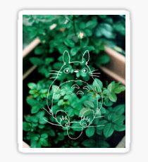 Green Totoro Sticker