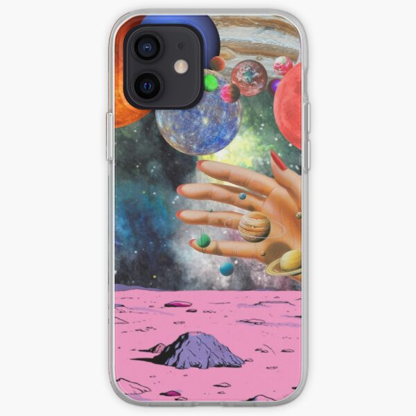 Psychedelic space. iPhone Soft Case
