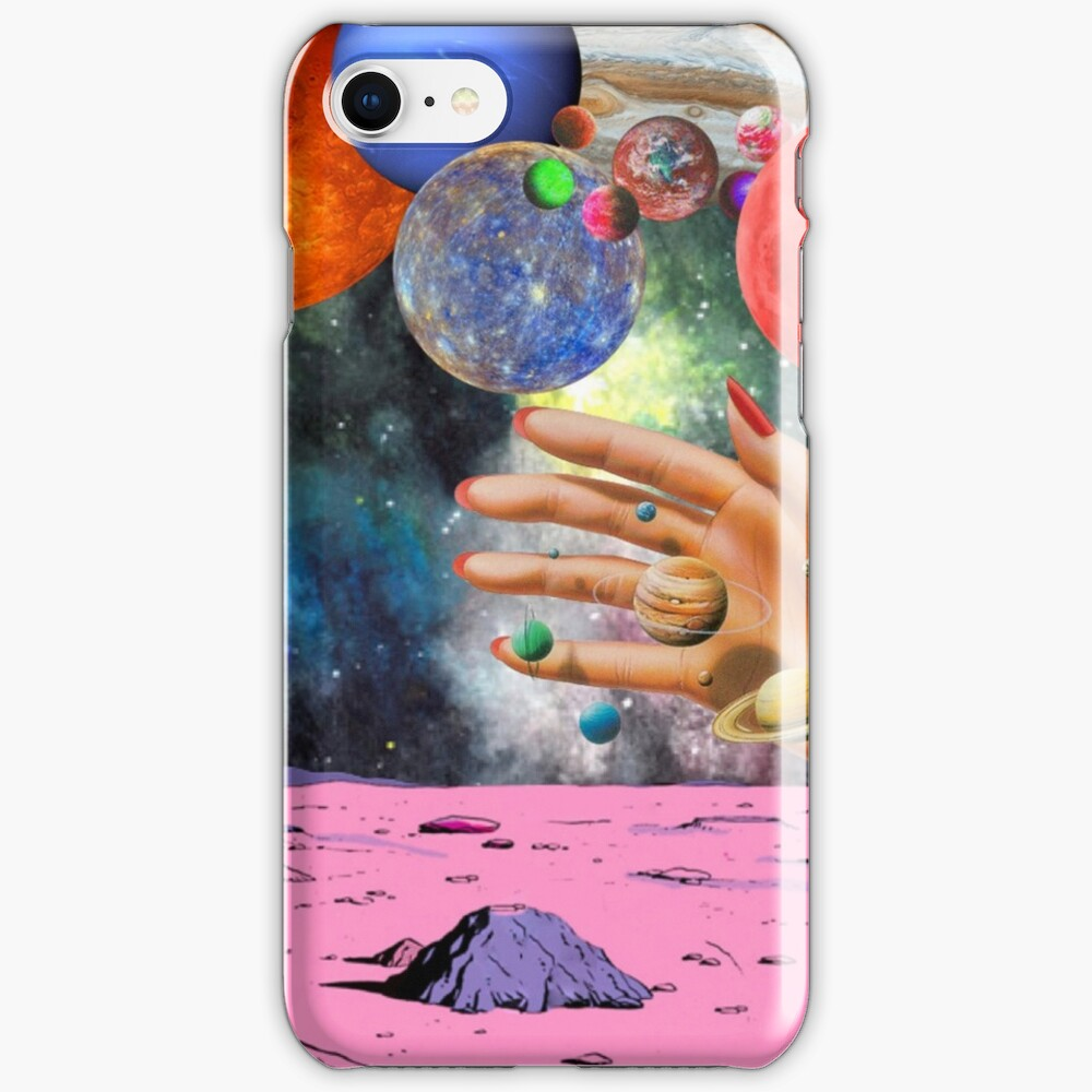 Psychedelic space. iPhone Case & Cover