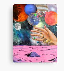 Psychedelic space. Metal Print