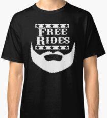 Free Rides Beard Classic T-Shirt