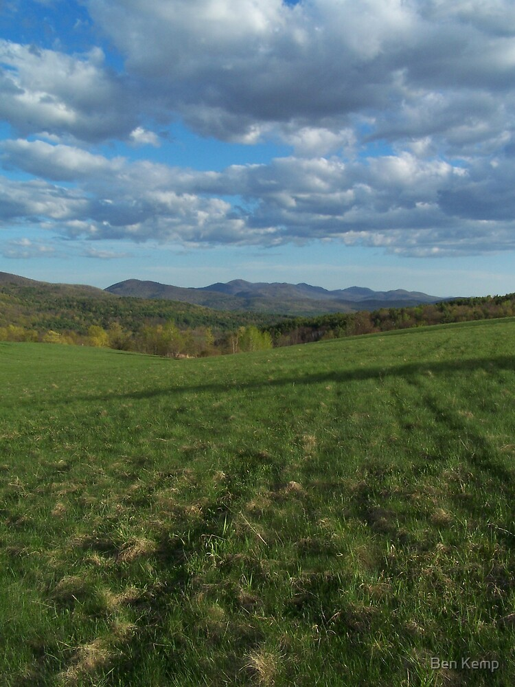 Green Mountains from Hubbardton by Ben Kemp