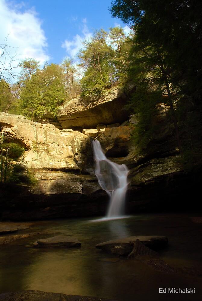 Cedar falls by Ed Michalski