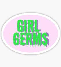 Girl Germs Sticker