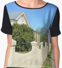 Streetscape - Smalltown Australia Chiffon Top