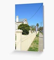 Streetscape - Smalltown Australia Greeting Card
