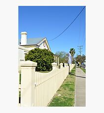 Streetscape - Smalltown Australia Photographic Print