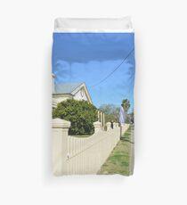 Streetscape - Smalltown Australia Duvet Cover