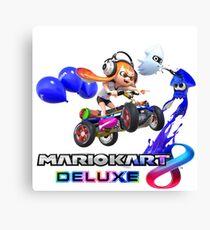 Mario Kart 8 - Deluxe (Splatoon Edition Design 1) Canvas Print