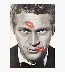 Steve McQueen Harper's Bazaar Photographic Print