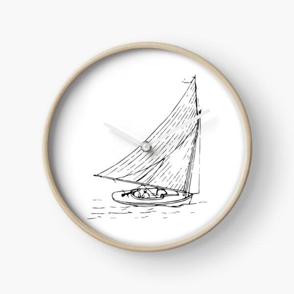 Small Sailboat Clock