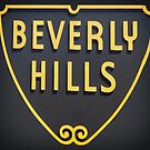 Beverly Hills Road Sign by mindydidit