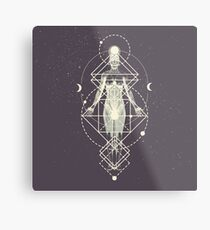 Sacred Geometry (Divine Feminine) Metal Print