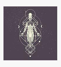Sacred Geometry (Divine Feminine) Photographic Print