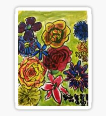 Flower Garden Sticker