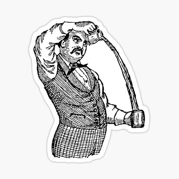 American Bartender Sticker