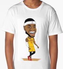 Lebron James NBA Phone Case/T-Shirt Long T-Shirt