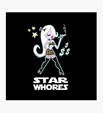 Star Whores Photographic Print