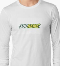 Supreme// subway Long Sleeve T-Shirt