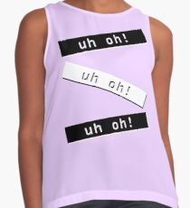 uh oh! Contrast Tank