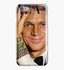 Steve McQueen Bazaar Cover  iPhone Case/Skin