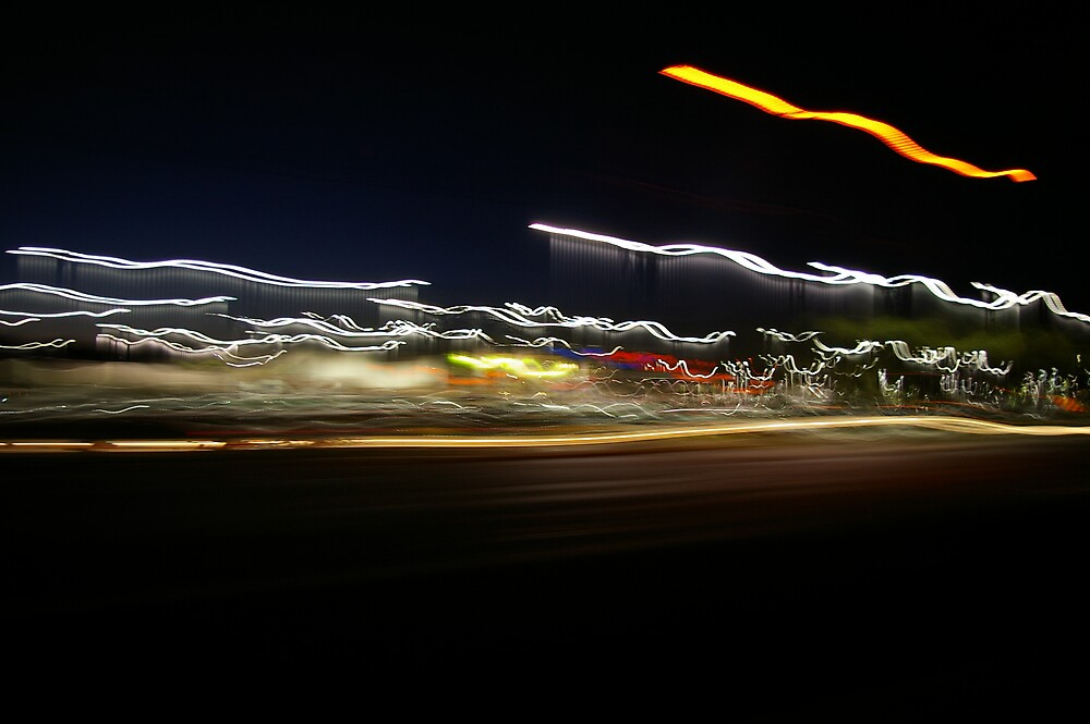 Moving Lights by Chris Popa