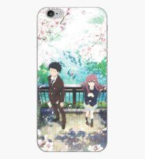 Koe no Katachi Poster iPhone Case