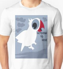 Nothing To Hide! - Bird T-Shirt - NZ Unisex T-Shirt