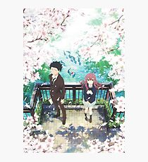 Koe no Katachi Poster  Photographic Print