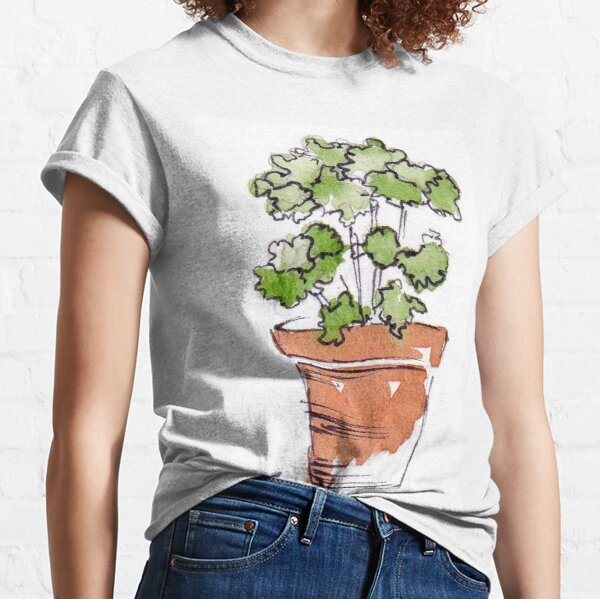 Herbs in pots - Parsley  Classic T-Shirt