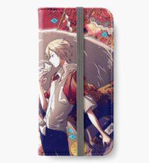 Natsume Takashi iPhone Flip-Case/Hülle/Skin