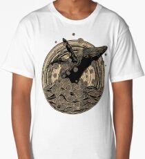 Breaching Whale Long T-Shirt