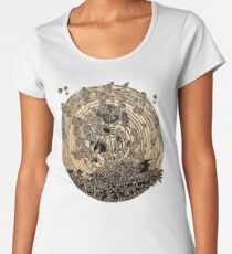 Night Spores Women's Premium T-Shirt