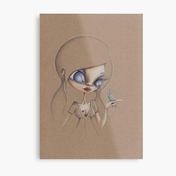 Inchworm Metal Print