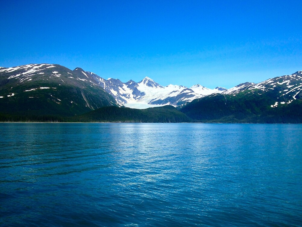 Mountains Over The Water by sqwap