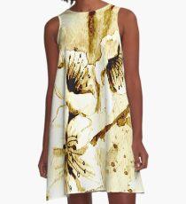 Almond blossoms A-Line Dress