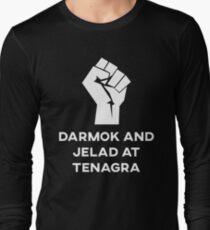 Darmak and Jelad at Tenagra Long Sleeve T-Shirt