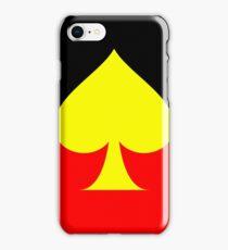 Aboriginal Spade Flag iPhone Case/Skin