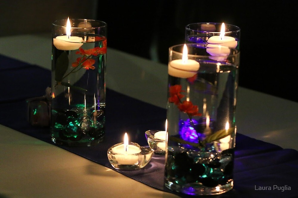 Candle Lights by Laura Puglia