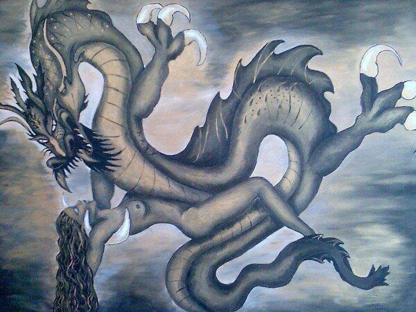 dragon by amparo