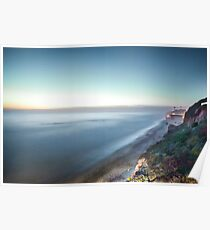 Encinitas at Blue Hour Poster