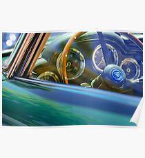 1960 Aston Martin DB4 Series II Steering Wheel -2041c Poster