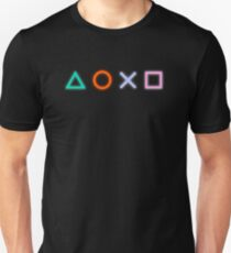 Playstation Buttons Symbols T-Shirt