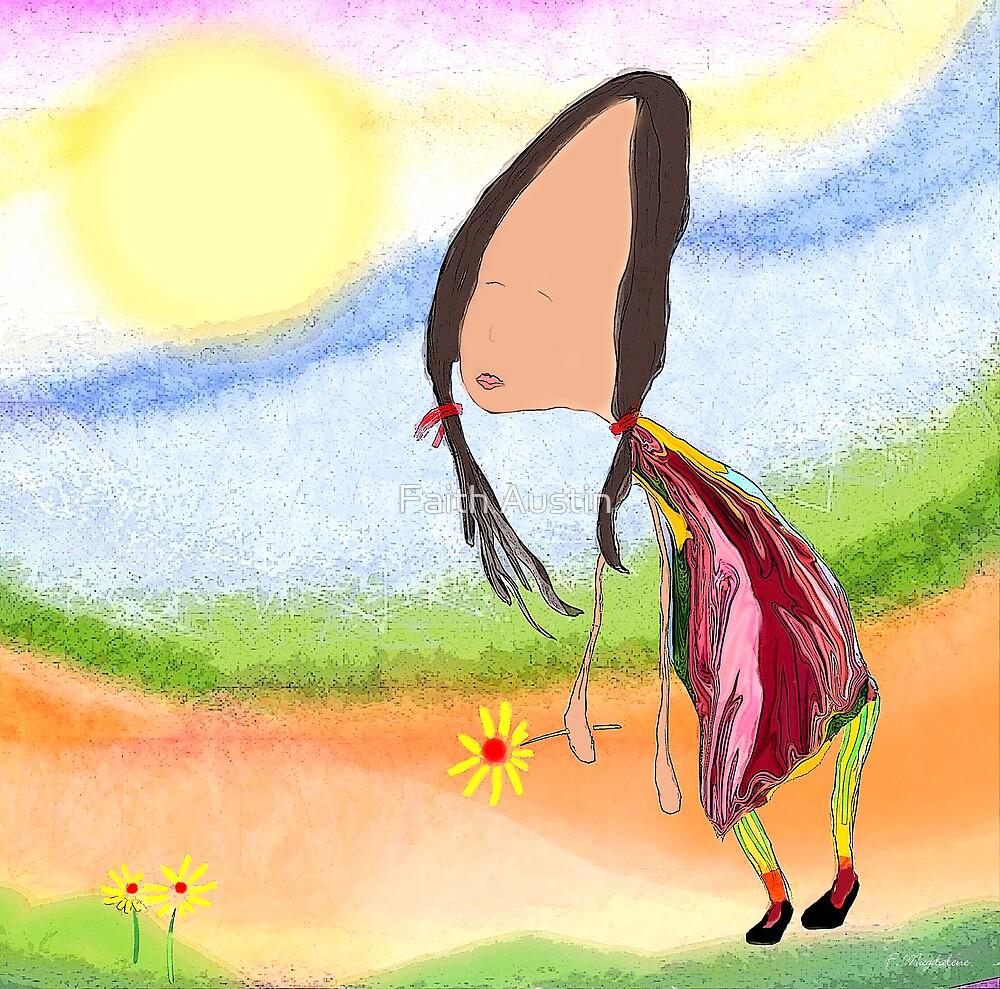 The Brighter Side by Faith Magdalene Austin