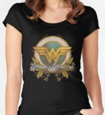 MISS HER? Women's Fitted Scoop T-Shirt