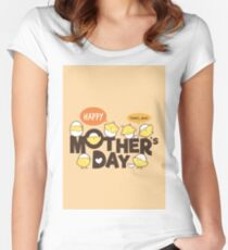 Happy Mothers Day Women's Fitted Scoop T-Shirt