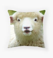Oooh! La La... - Baby Lamb - Sheep - NZ Throw Pillow