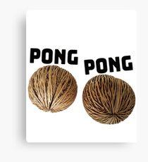 Pong Pong Seeds Design Canvas Print